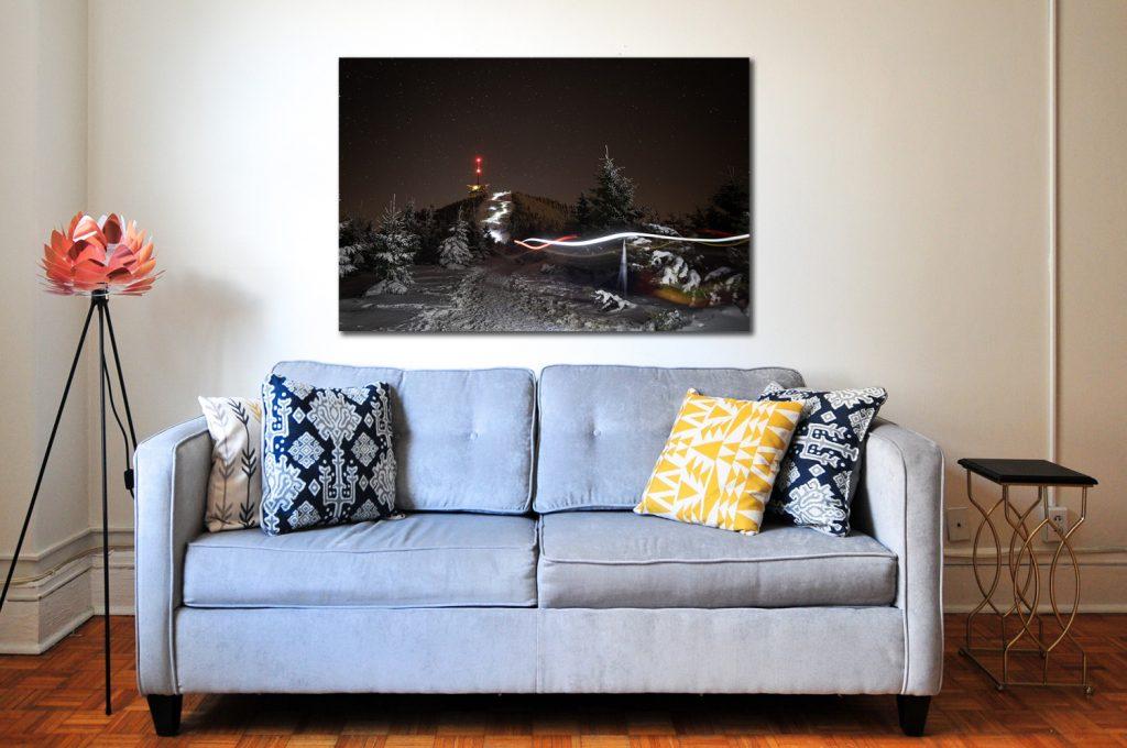 Had běžců na Lysou Horu, Prodej fotoobrazů Dlouhá Trať, Fotograf Lukáš Budínský, podpora Mamma HELP