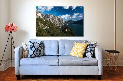 Lago Di Garda, Limone, Prodej fotoobrazů Dlouhá Trať, Fotograf Lukáš Budínský, podpora Mamma HELP