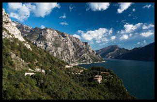 Lago di Garda a Limone, Prodej fotoobrazů Dlouhá Trať, Fotograf Lukáš Budínský, podpora Mamma HELP