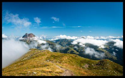Grosser RettenStein v Rakouských Alpách, Prodej fotoobrazů Dlouhá Trať, Fotograf Lukáš Budínský, podpora Mamma HELP