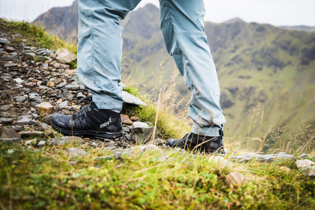 boty inov-8 gtx ve skotsku, skyrunning Lukáš Budínský fotograf