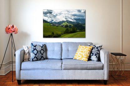 Náhled fotoobrazu Po dešti v Alpách