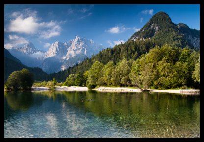 Julské Alpy. Prodej fotoobrazů Dlouhá Trať, Fotograf Lukáš Budínský, podpora Mamma HELP